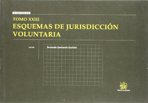 9788498764260: Tomo XXIII Esquemas de Jurisdicción voluntaria