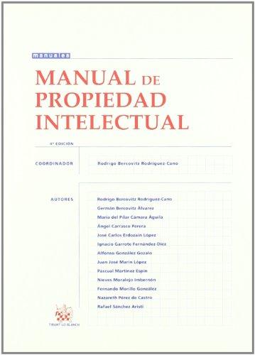 9788498766387: Manual de propiedad intelectual