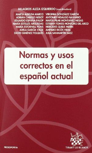 9788498768695: Normas y Usos Correctos en el Español Actual