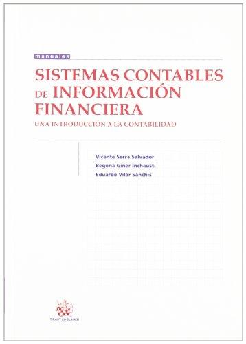 9788498769234: Sistemas contables de Información financiera