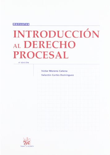 9788498769326: Introducción al Derecho Procesal