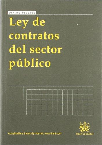 9788498769654: Ley de contratos del sector público