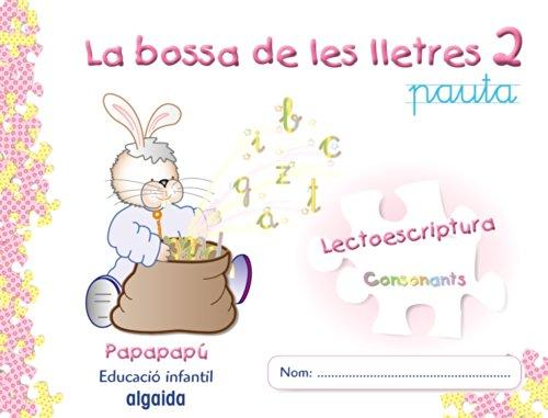 9788498770490: La bossa de les lletres 2: Lectoescriptura. Consonants (Papapapú)
