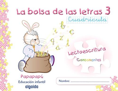 9788498770582: La bolsa de las letras 3. Cuadrícula (Papapapú) - 9788498770582
