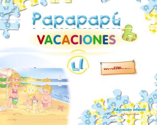 9788498770827: Papapapú 4. Cuaderno de vacaciones
