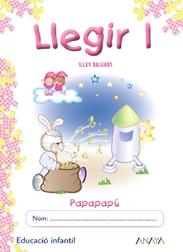 9788498771473: Llegir 1 (Papapapú) - 9788498771473