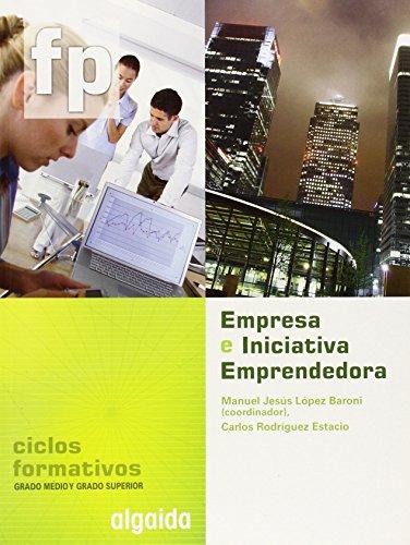 9788498772340: Empresa e iniciativa emprendedora, grado medio y ciclos formativos