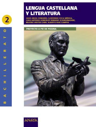 9788498772395: Lengua Castellana y Literatura 2