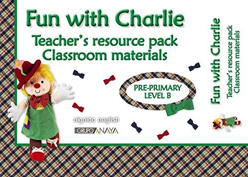9788498777444: Material para el aula. Inglés Educación Infantil. Level B. Fun With Charlie.