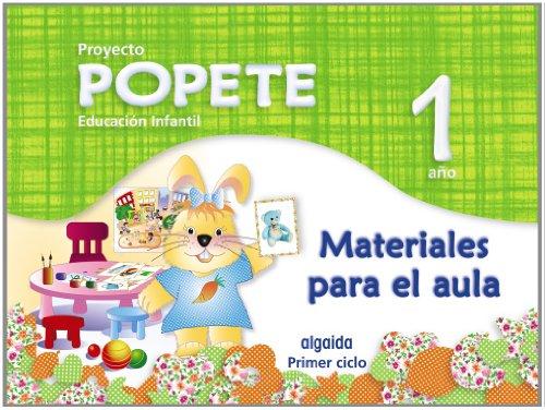 9788498777642: Popete 1 año. Proyecto Educación Infantil Algaida. Material de Aula