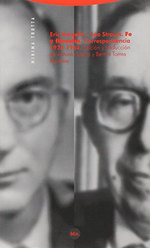 9788498790528: Fe y Filosofía: Correspondencia 1934-1964 (Minima)