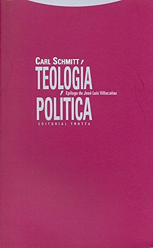 9788498790849: Teología política [Lingua spagnola]