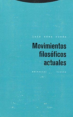 9788498790887: Movimientos filosóficos actuales