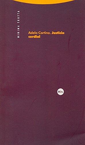9788498791419: Justicia cordial (Minima)