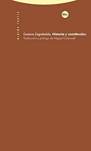 9788498792119: Historia y constitución