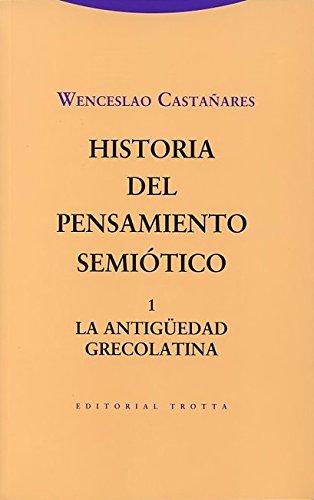 9788498794960: Historia del pensamiento semi�tico. 1: La Antig�edad grecolatina