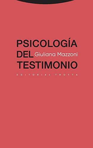 9788498797541: Psicología del testimonio (Estructuras y Procesos. Derecho)