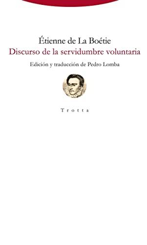 9788498798050: Discurso De La Servidumbre Voluntaria (Torre del Aire)