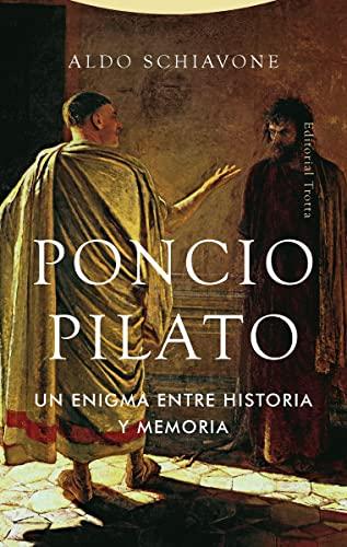 9788498798227: Poncio Pilato: Un enigma entre historia y memoria (Estructuras y Procesos. Religión)
