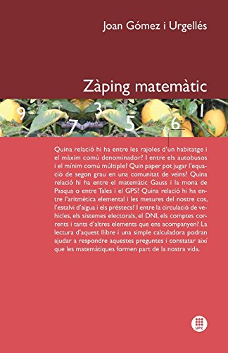 9788498804393: Zaping Matematic (Multilingual Edition)