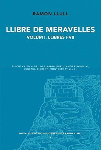 9788498834604: Llibre de meravelles. Volum 1. Llibres I-VII