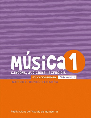9788498835076: Música-1. Cançons, audicions i exercis. Educació primària. Cicle inicial, 1