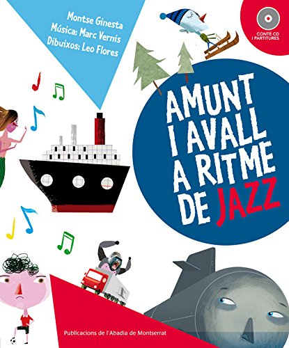 9788498835236: Amunt i avall a ritme de jazz (Lletra & música)