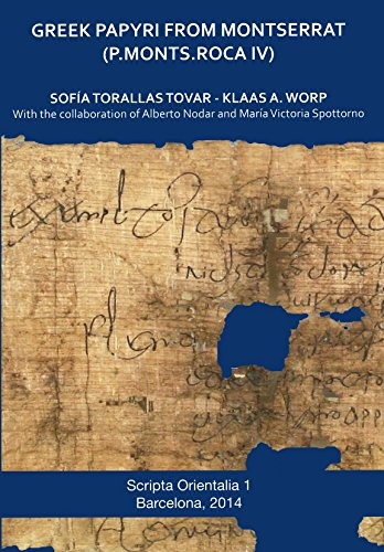 Greek papyri from Montserrat. P.Monts. Roca IV: Torallas Tovar, Sofia;Worp, Klaas A.