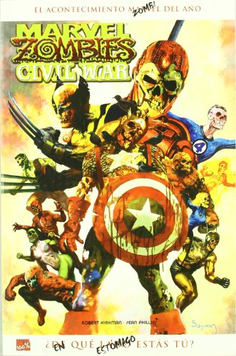 9788498850437: Marvel Zombies 2, Civil war