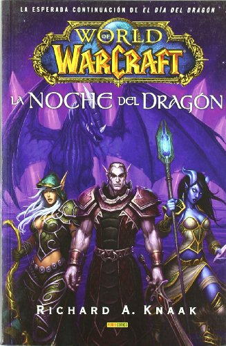 9788498854091: World of Warcraft, La noche del dragón