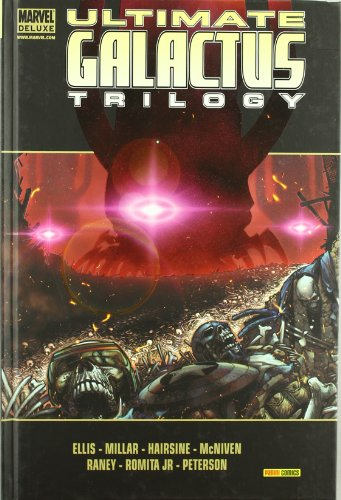 9788498854596: Ultimate Galactus Trilogy (Marvel Deluxe)