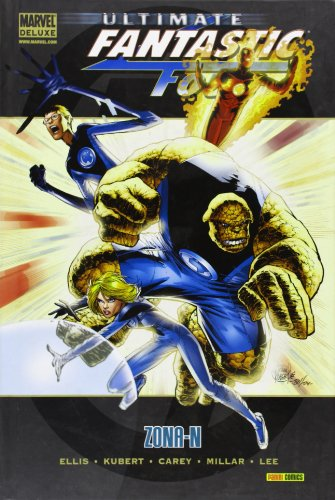 9788498854763: ULTIMATE FANTASTIC FOUR 02: ZONA-N (MARVEL DELUXE)