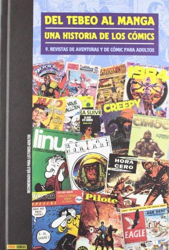 9788498859034: Del tebeo al manga: revista de aventuras y de comic para adultos 09