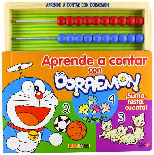 9788498859690: Aprende a contar con doraemon