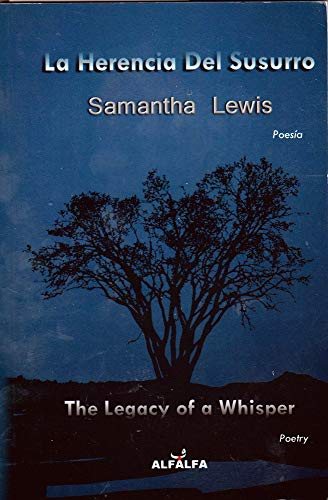 9788498861679: La Herencia Del Susurro / The Legacy of a Whisper (English and Spanish Edition)