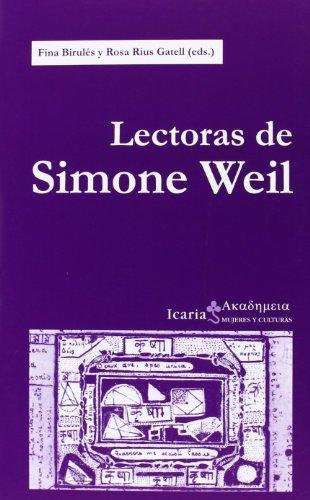 9788498884807: Lectoras De Simone Weil