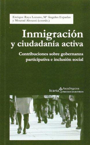 9788498884920: Inmigración Y Ciudadanía Activa