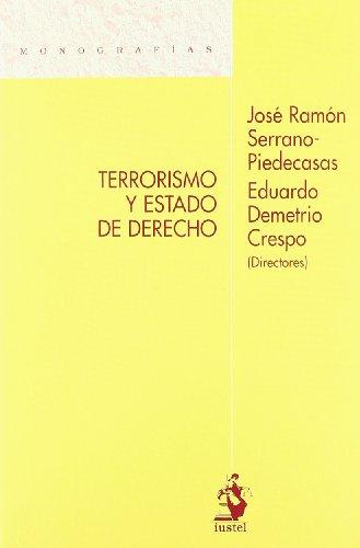 9788498900866: Terrorismo y Estado de Derecho