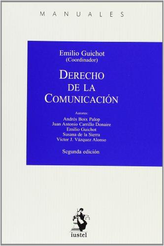9788498902242: Derecho De La Comunicación - 2º Edición (Manuales (iustel))