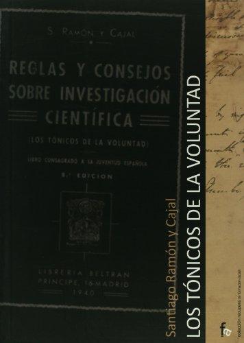 9788498910391: Los tonicos de la voluntad (Spanish Edition)