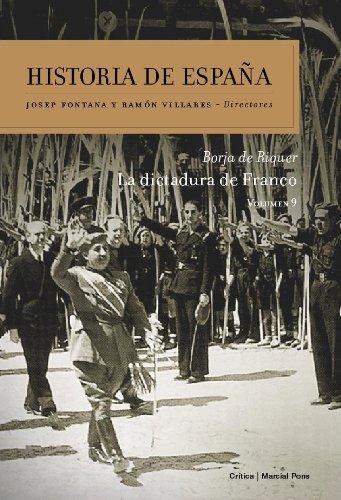 9788498920635: La dictadura de Franco: Historia de España Vol. 9