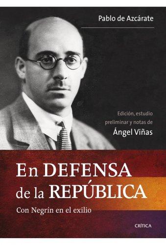 9788498921403: En defensa de la República
