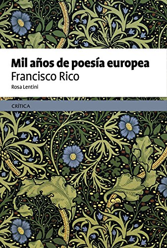 9788498927313: Mil años de poesía europea (Fuera de Colección)