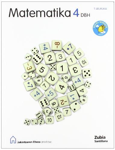 9788498941821: MATEMATIKA 4 DBH ARINDU BIZKARRA JAKINTZAREN ETXEA
