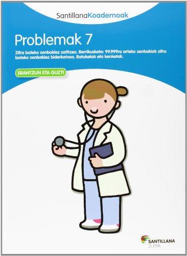 9788498943313: PROBLEMAK 7 SANTILLANA KOADERNOAK - 9788498943313