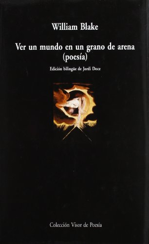 9788498950212: Ver Un Mundo En Un Grano De Arena. Poesía (Visor de Poesía Maior)
