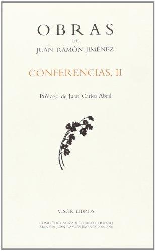 9788498950526: Conferencias II (Obras Juan Ramon Jimenez)