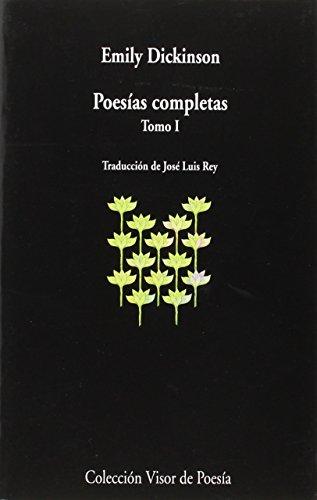 9788498959383: Poesías Completas I: tomo I: 938 (visor de Poesía)