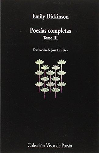 9788498959406: Poesías Completas III: tomo III: 940 (visor de Poesía)