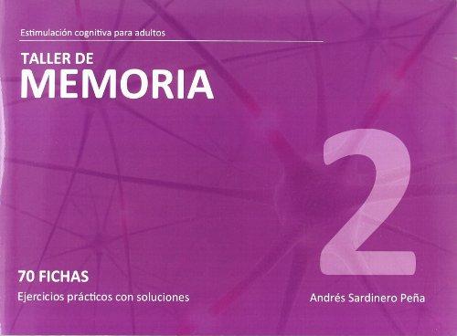 9788498962086: Taller de Memoria 2-Estimulación cognitiva adultos <70 fichas c/ejerc.> (R) (2010)